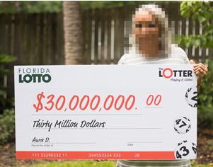 Panamanian Woman Wins $30 Million Playing Florida Lotto