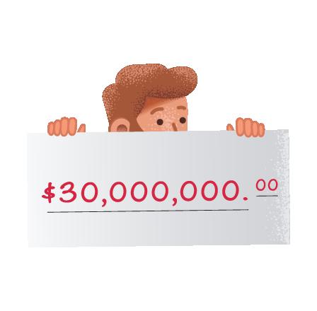 Grandes ganadores del Texas Lotto