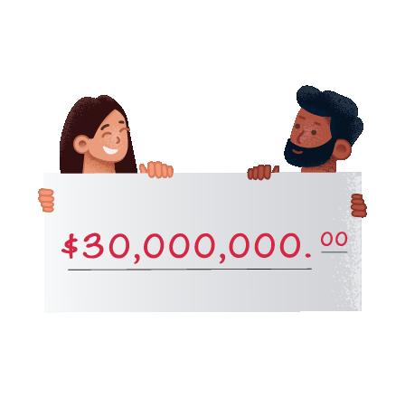 Ganadores de la lotería Mega Millions en theLotter