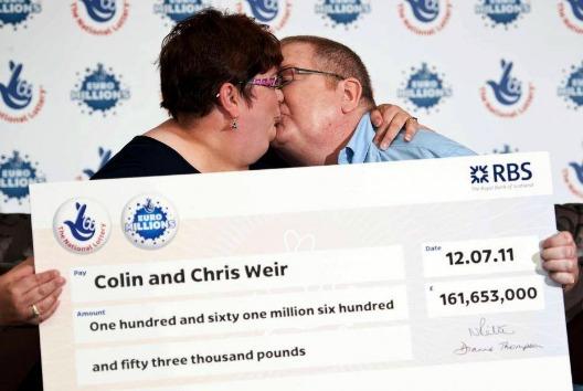 Colin y Chris Weir, Reino Unido – €185 millones