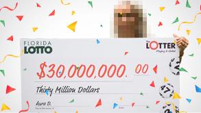 Aura ganadora de lotería