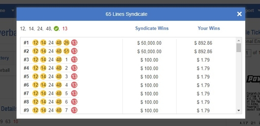 Powerball syndicate wins huge prizes