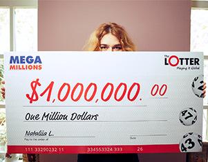 Nataliia de Ucrania ganadora theLotter